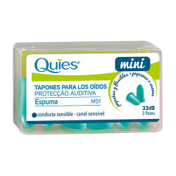 Comprar Quies Tapón Mini Espuma 3 Pares 33dB