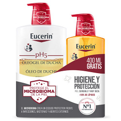 Comprar Eucerin PH5 Oleo Gel Ducha 1L + 400ml