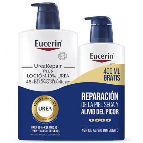 Eucerin Family Pack Loción 10% Urea 1L + 400ml
