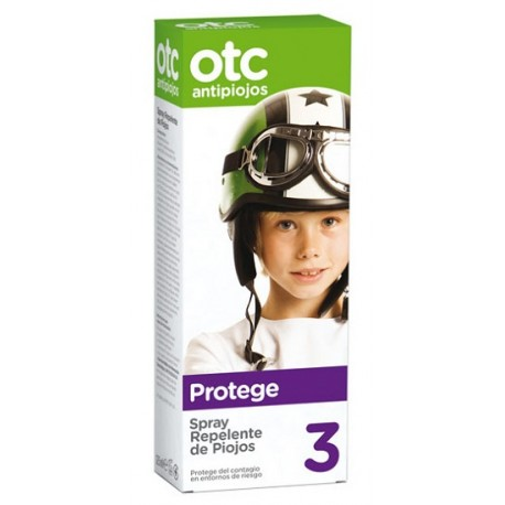 OTC Antipiojos Spray Repelente de Piojos 125ml.