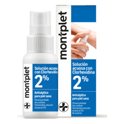 Comprar Montplet Antiséptico Spray CHX 2% 50ml
