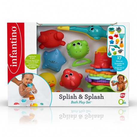 Infantino Set de Pesca Splish & Splash +12m