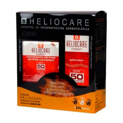 Comprar Heliocare Color Gel Cream SPF50 Brown 50ml + Compact Oil Free SPF50 10g