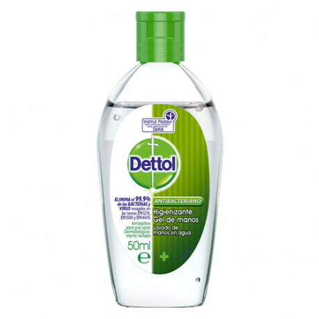 Dettol Gel Manos Antibacteriano 50ml