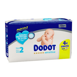 Comprar Dodot Sensitive Protection Plus Talla 2 (4-8kg) 39 unidades