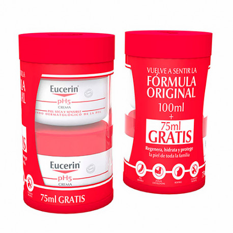 Eucerin pH5 Crema 100ml + Regalo 75ml