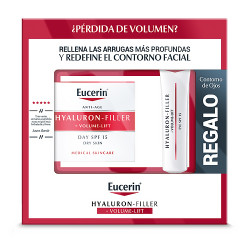 Comprar Eucerin Hyaluron-Filler Pack Volume PS 50ml + Contorno Ojos Regalo