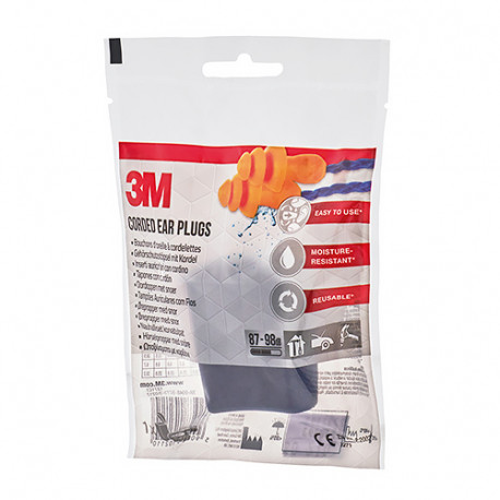3M Tapones Oído Silicona Agua