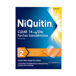 Comprar Niquitin Clear 14 mg/24 H 14 Parches Transdermicos