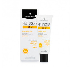 Heliocare Pack 360º Gel Oil Free 50ml + Endocare Radiance Oil Free 10 Ampollas