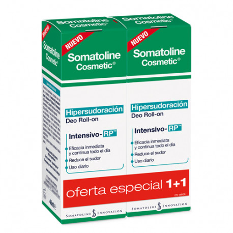 Somatoline Cosmetics Desodorante Hipersudoración Roll-On 2x40ml