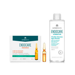 Comprar Endocare Pack Radiance C Oil Free Ampollas + Endocare Hydractive Agua Micelar 400 ml