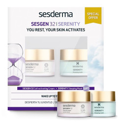 Comprar Sesderma Pack Sesgen 32 Crema 50ml + Serenity Sleeping Mask 50ml
