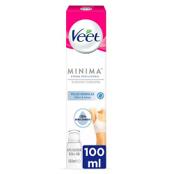Comprar Veet Crema Depilatoria Mujer Roll-On Pieles Sensibles 100ml