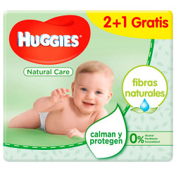 Comprar Huggies Toallitas Natural Care Triplo