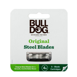 Comprar Bulldog Skincare For Men Original Steel Blades 4 Cargadores