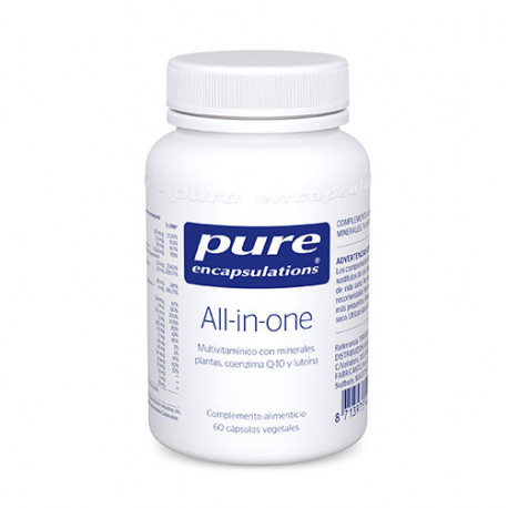 Pure Encapsulations All In One 60 Cápsulas 61g
