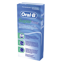 Comprar Oral B Super Floss Seda Dental Precortada 50 unidades