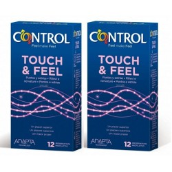 Comprar Preservativos Control Touch&Feel Pack 2 x 12 uds