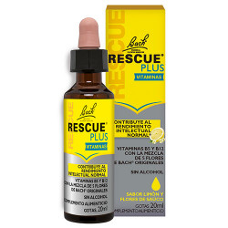 Comprar Bach Rescue Plus Vitaminas Gotas 20ml