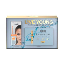 Comprar Isdin Live Young Rutina Hidratante Fusion Water SPF50 + Hyaluronic Booster