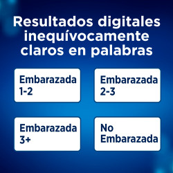 Clearblue Test Embarazo Digital 2 unidades
