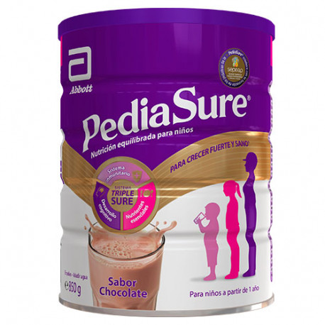 PediaSure Polvo Sabor Chocolate 850g