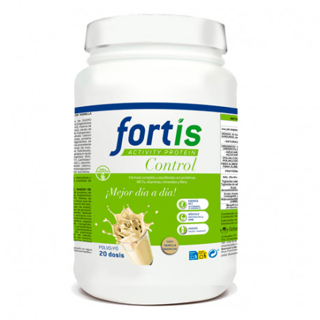 Fortis Activity Protein Control Vainilla Bote 1140gr