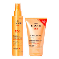 Comprar Nuxe Sun Leche Corporal Spray SPF50 150ml + After Sun 50ml