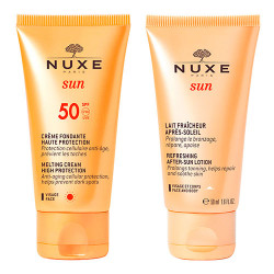Comprar Nuxe Sun Crema Facial Fundente SPF50 50ml + After Sun 50ml