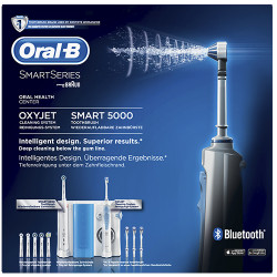 Comprar Oral B Estación Cuidado Dental Irrigador OC601 Oxyjet + Smart 5000