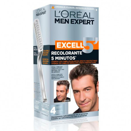 L'Oreal Excell 5 Castaño Oscuro Natural Nº 4