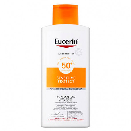 Eucerin Loción Extra Light SPF50+ 400ml