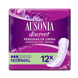 Ausonia Discreet Normal 12 unidades
