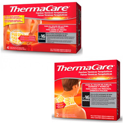 Comprar Pack Thermacare Lumbar 4 uds + Thermacare Cuello 2 uds