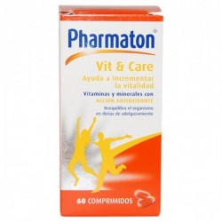 Comprar Pharmaton Vit and Care 60 Comprimidos