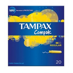 Tampax Compak Regular 20 uds