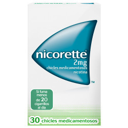Comprar Nicorette 2mg 30 chicles
