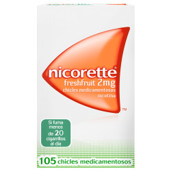 Comprar Nicorette Freshfruit 2mg 105 chicles