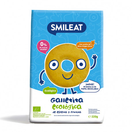 Smileat Galletas Infantiles Ecológicas 220gr