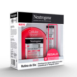 Comprar Neutrogena Cellular Boost Facial Pack Crema Día 50ml+Contorno Ojos 15ml
