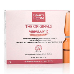 Comprar Martiderm The Originals Fórmula Nº10 HD Color Touch SPF30 2ml 10 unidades