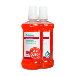 Comprar Farline Colutorio Dental Sin Alcohol 2x500ml