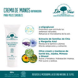 Dr. Tree Crema Manos Eco Pieles Sensibles 75ml