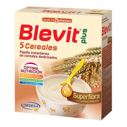 Comprar Blevit Plus Superfibra 5 Cereales 600gr
