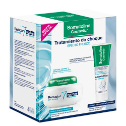 Comprar Somatoline Cosmetic Tratamiento Choque Reductor Gel 400ml + Anticelulítico 250ml