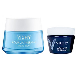 Comprar Vichy Aqualia Thermal Crema Rica 50ml + Mini Talla Noche