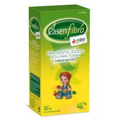CasenFibra Junior Fibra Vegetal Líquida Sabor Neutro 200ml.