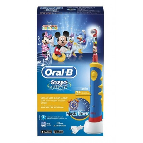 Oral B Cepillo Eléctrico Infantil Stages Power Mickey