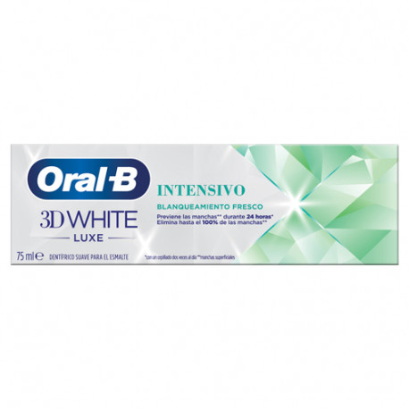 Oral-B 3D White Luxe Blanqueamiento Intensivo 75ml